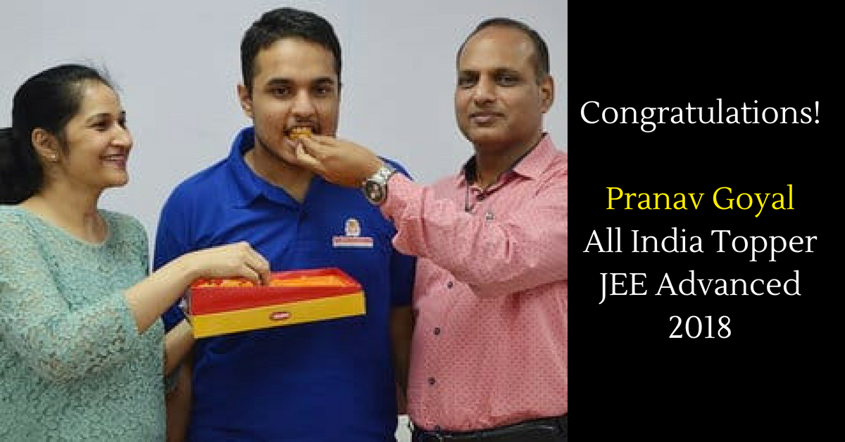 JEE Advanced Result Declared: Panchkula Boy Pranav Goyal is All India Topper!