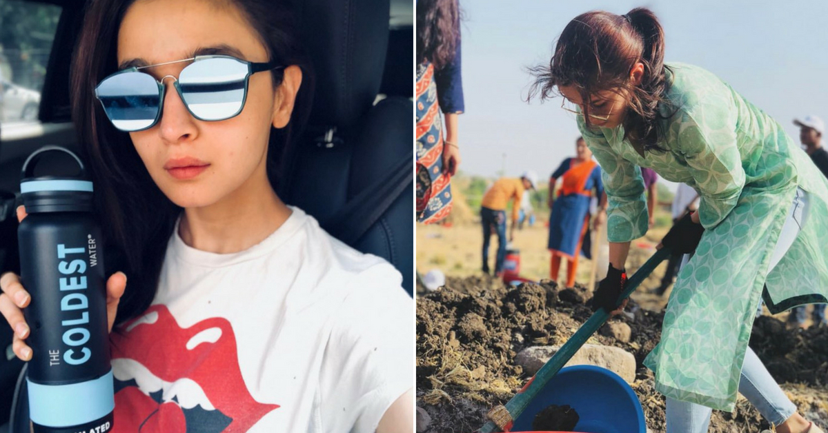 Love Alia Bhatt's Movies? How About Taking a Cue From Her Zero-Plastic Pledge!