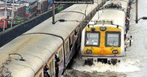 Central Railway waterproof loco engine trains
