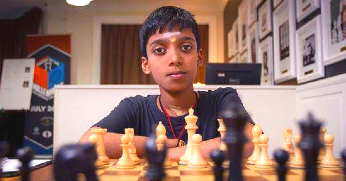Brilliant Chennai Boy Creates History, Becomes World's 2nd Youngest Grandmaster!