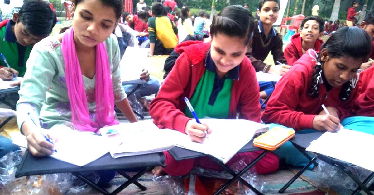 IIT-Kanpur Grad's Innovation Is Easing Burden & Backache for Govt. School Students!