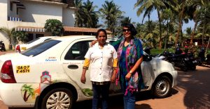 Goa will soon have an app-based taxi service by its tourism department.Image Credit: Kaynat Kazi