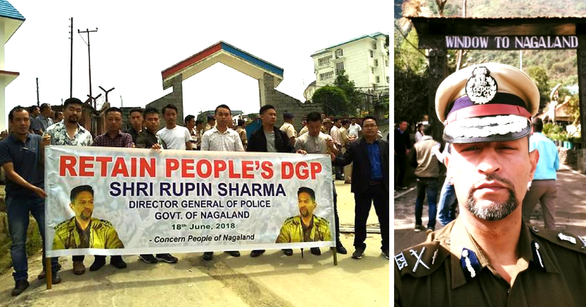 Defying its Govt, Nagaland Comes Out in Support of its Beloved 'People's DGP'!
