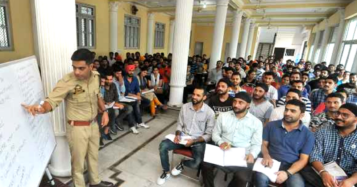 Young IPS Officer Turns Mentor, Offers Free Exam Coaching to Jammu Students!