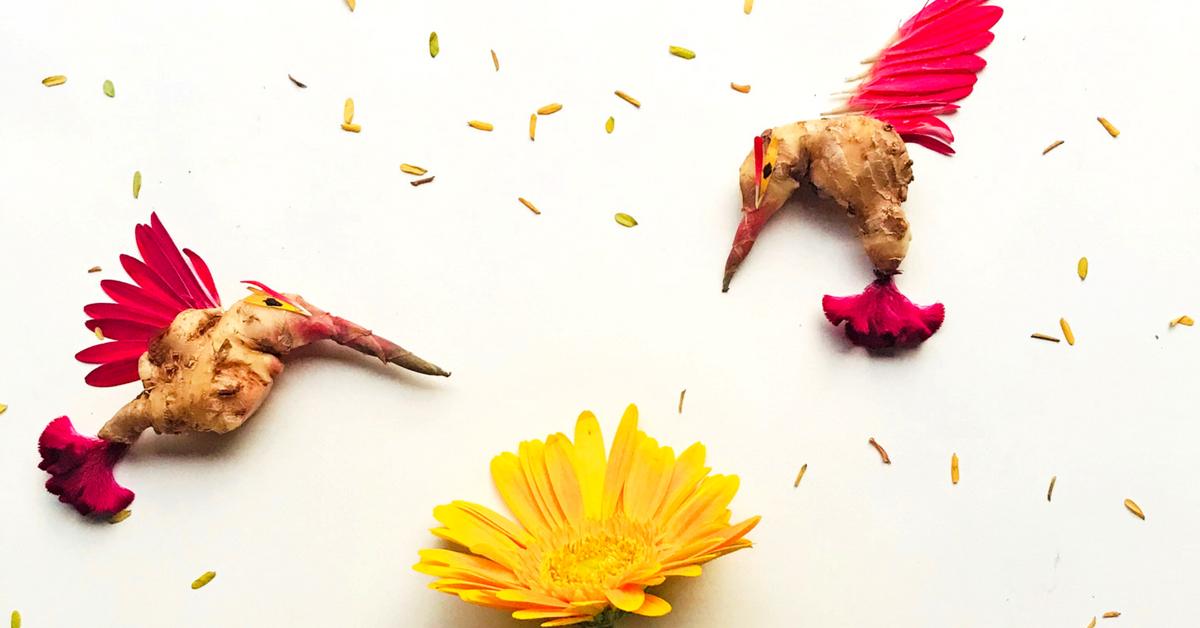 In Pics: Bengaluru Woman Transforms Fallen Petals, Leaves Into Stunning 3D Art!