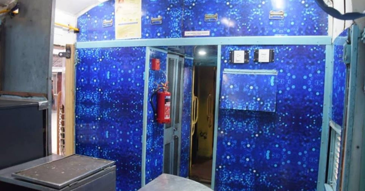 The interiors of the Utkrisht train are pleasing to the eye. Image Credit: Ministry of Railways