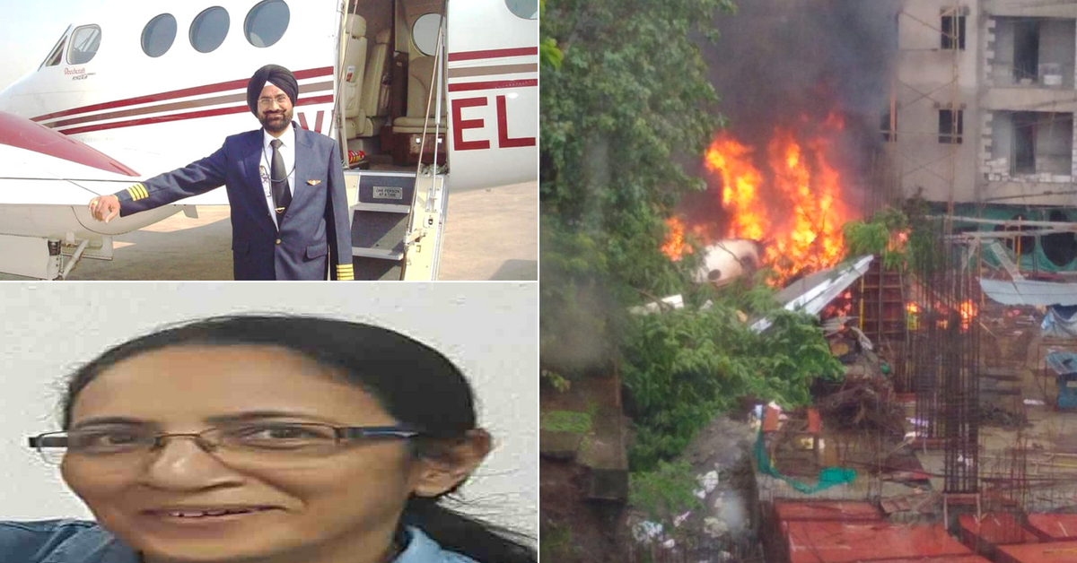 Ghatkopar Crash: Pilots Steered Away From Homes, Saved Lives at Cost of Own!
