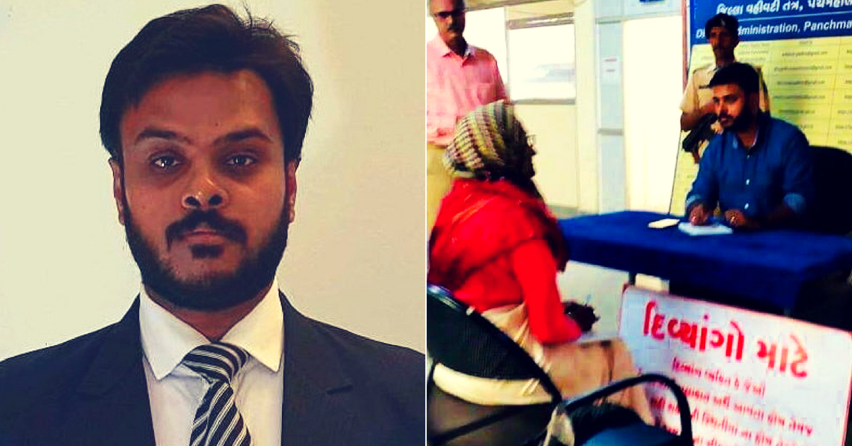 When Elderly, Disabled Can't Come to Him, This Gujarat IAS Officer Goes to Them!