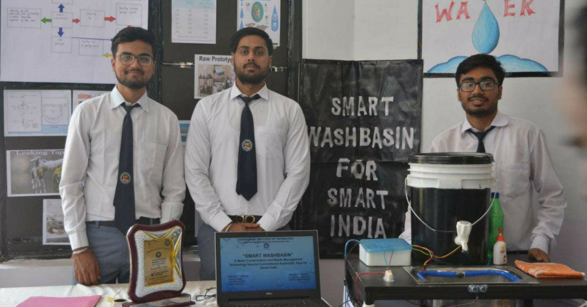 UP Engineering Students Develop 'Smart Wash Basin' That Prevents Water Wastage!