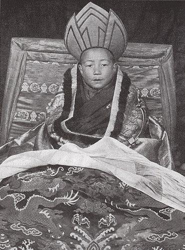 A young 13th Dalai Lama (Source: Facebook/13th Dalai Lama)