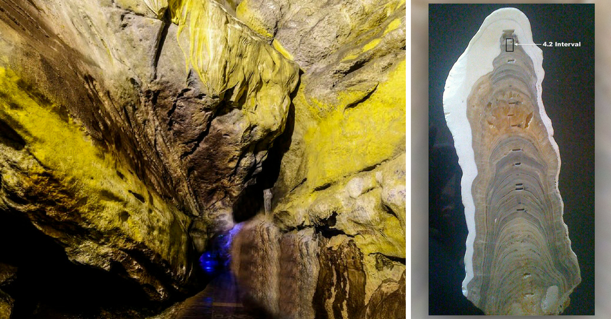 The stalagmite rocks from Mawmluh Caves