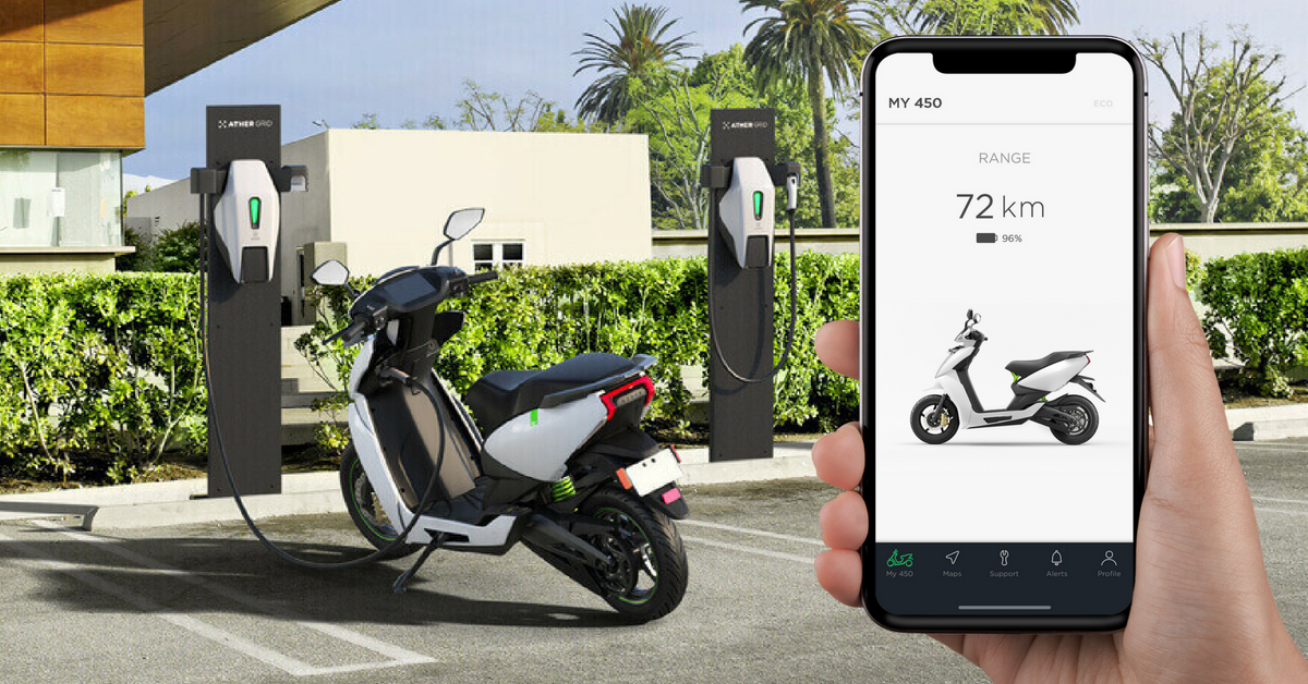 Ather Grid Electrical charging stations