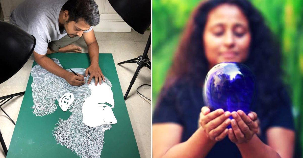 Human Hair to Bacteria: 12 Indian Artists Creating Wonderfully Weird Masterpieces!