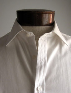 Buttons and Cotton shirts.