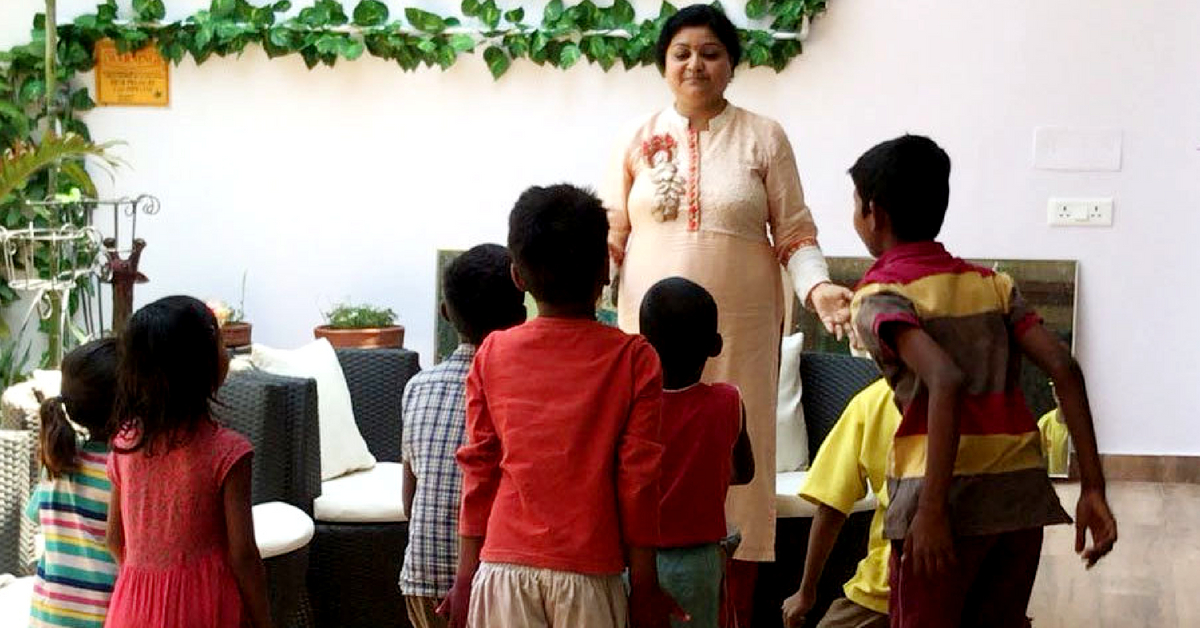 How a Lucknow IAS Officer's Wife Became a 'Mother' to 25 Underprivileged Kids