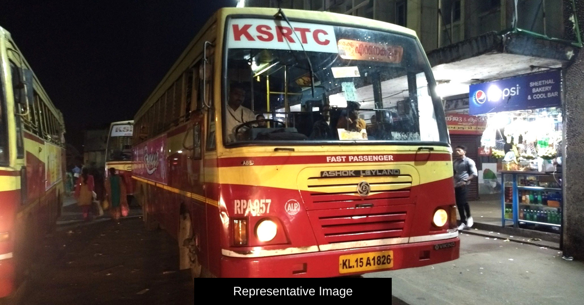 Stranded at Midnight With No Money, Kerala Man Finds Saviour in KSRTC Conductor!