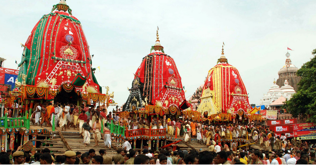 Odisha Engineer's Innovation Has Been Making Puri's Rath Yatra Safer For 12 Years!