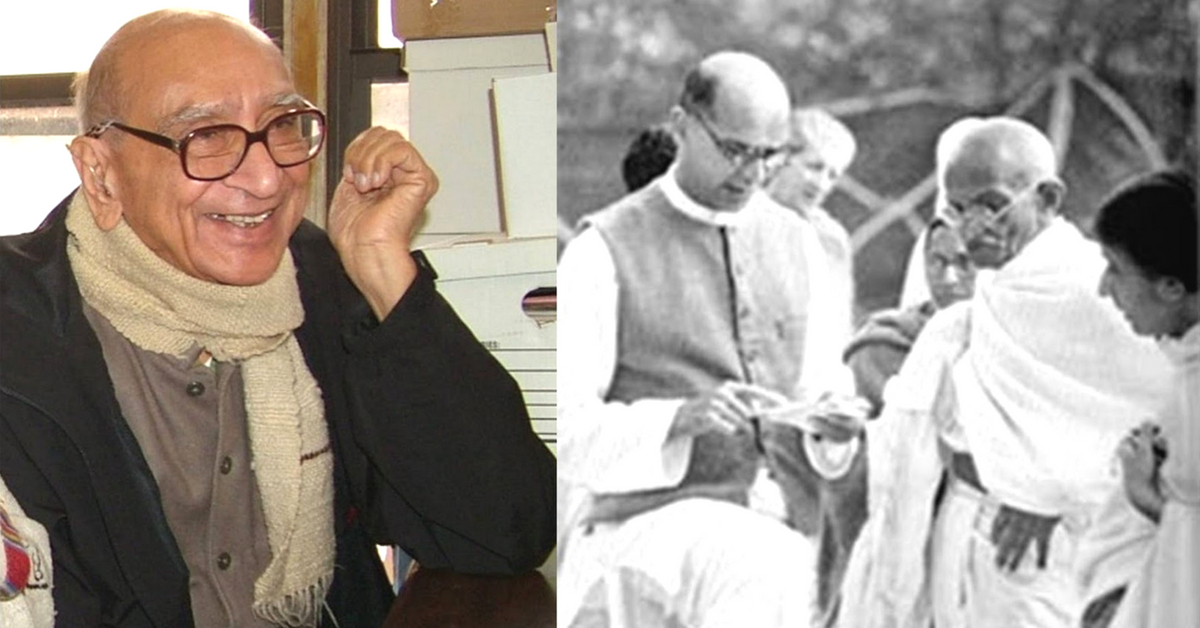 Son of Gandhi's Trusted Aide, This Unsung Man Dedicated His Entire Life to the Nation