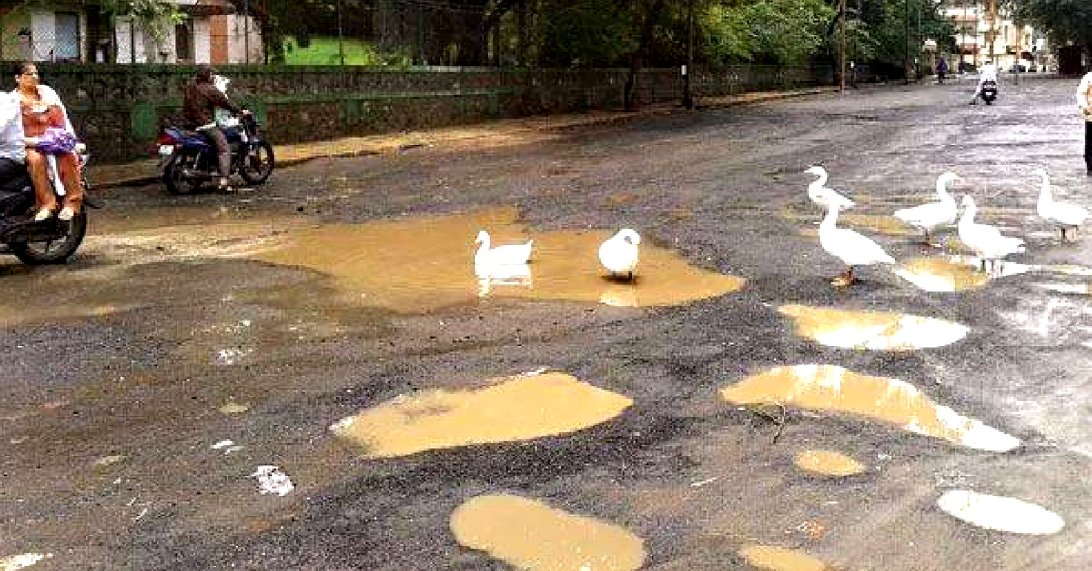Battling Govt Apathy, Villagers Pool Funds & Fill In 100 Potholes Themselves!