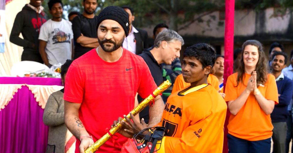 Here's How #Soorma's Sandeep Singh Is a Hero on and off the Field!