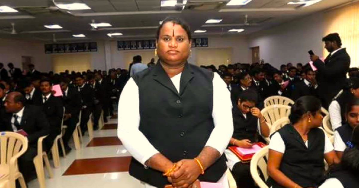 Smashing Barriers, Sathyasri Sharmila Becomes India's First Transgender Lawyer!