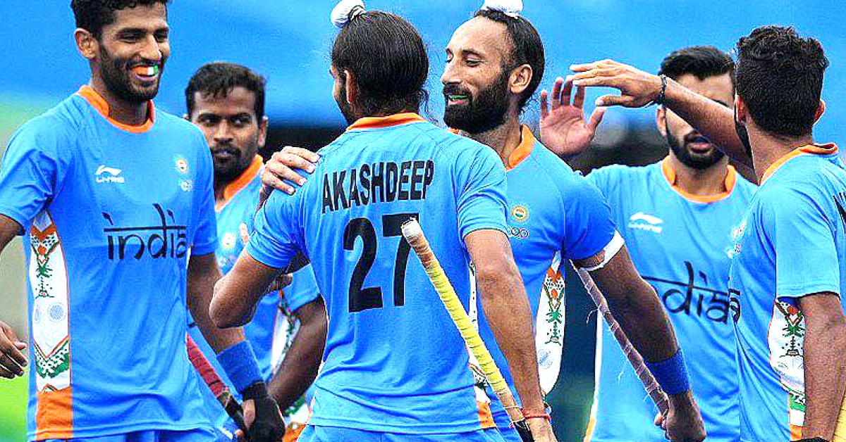 The Indian Hockey Team, blew the Pakistani team away, with a 4-0 victory. Image Credit: Silver battery