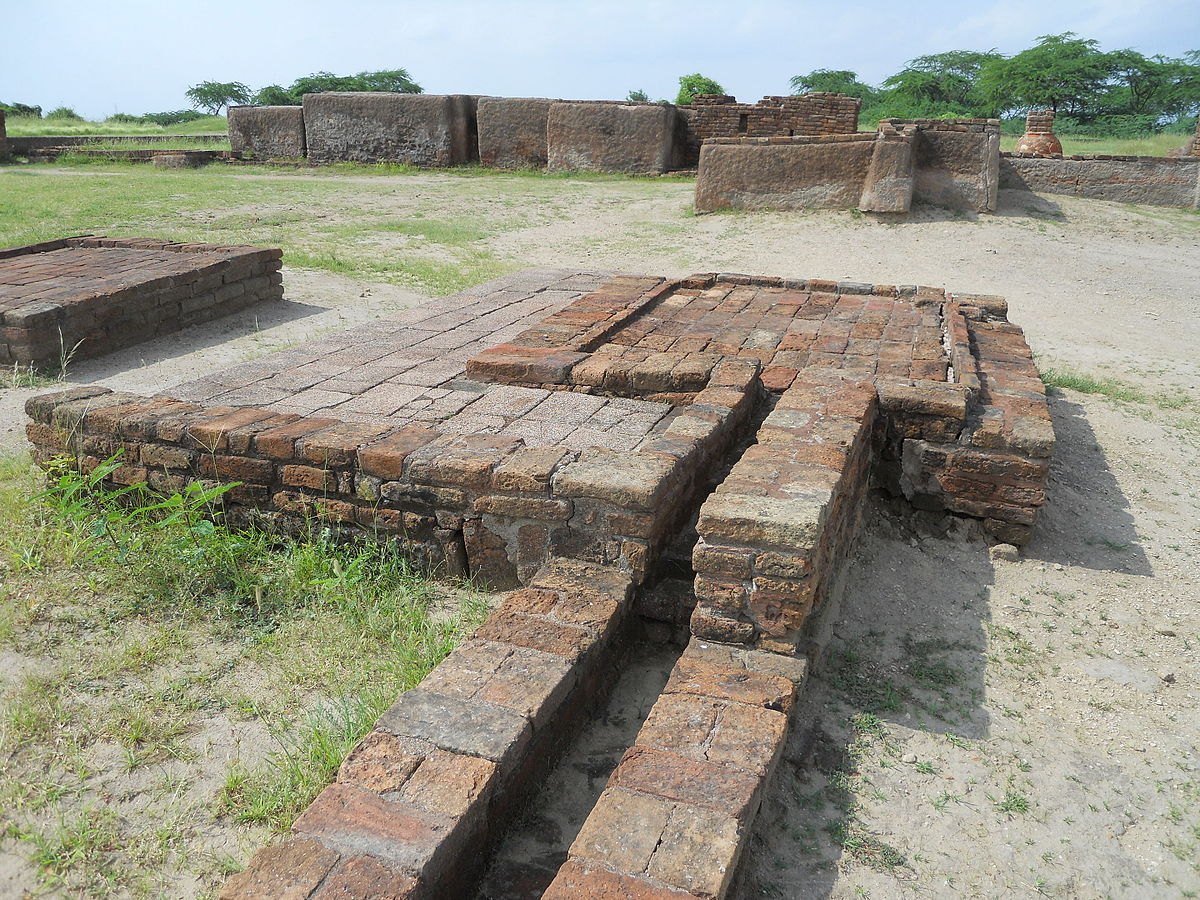 The drainage system in Lothal, Gujarat