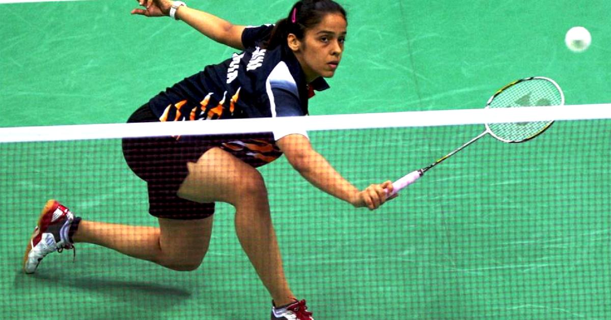 Today, India has many badminton stars, Saina Nehwal being one of them. Image Credit:-Riyas MP