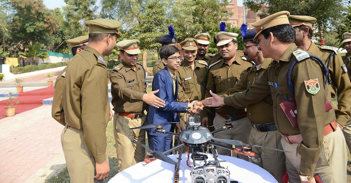 This 15-Year-Old Is India's Youngest Drone Builder & He is Saving Lives Already!