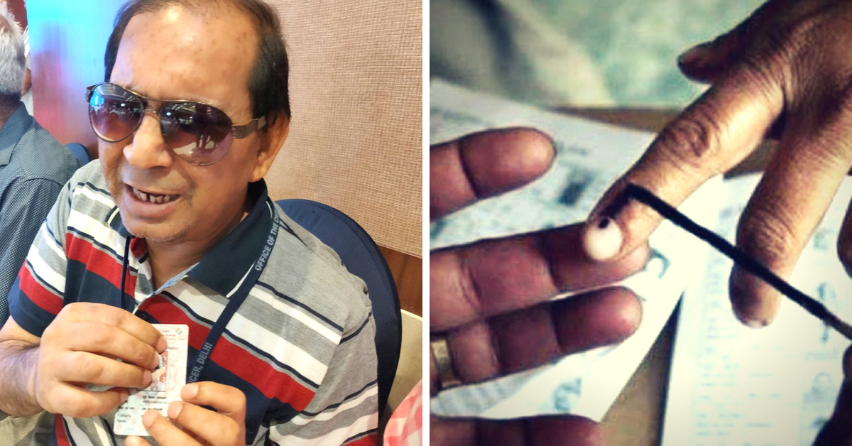 In a Much-Needed First, K'taka Issues Braille EPIC Card to Visually Impaired Voters!