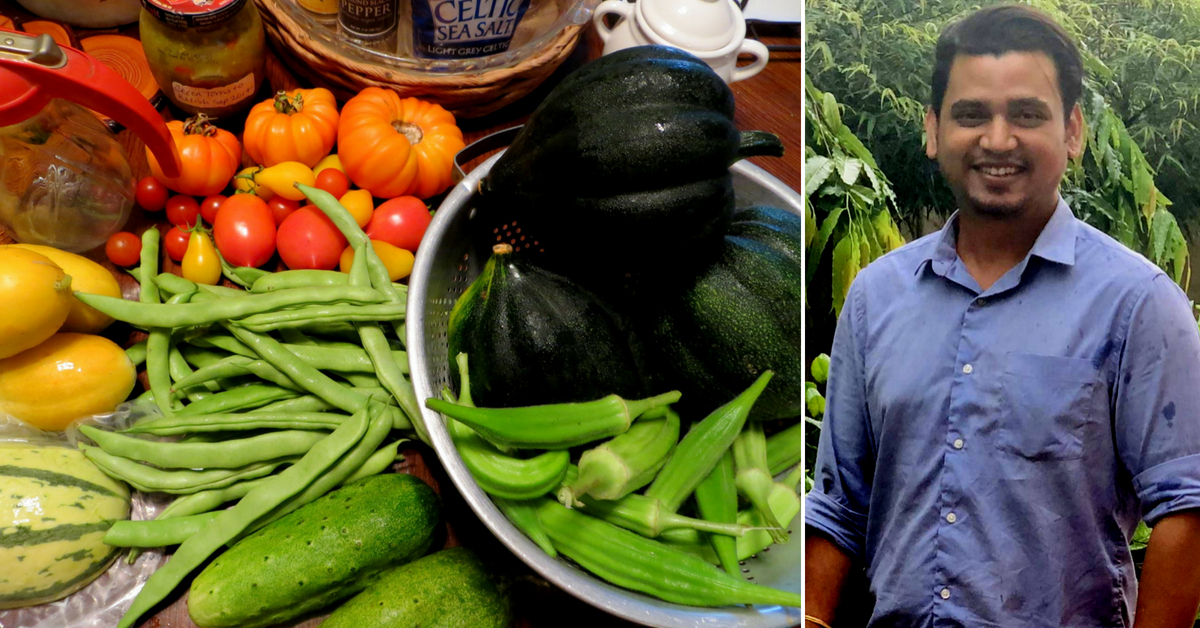 Odisha Man's Start-Up Makes Sure There Are No Chemicals, Toxins in Your Veggies!
