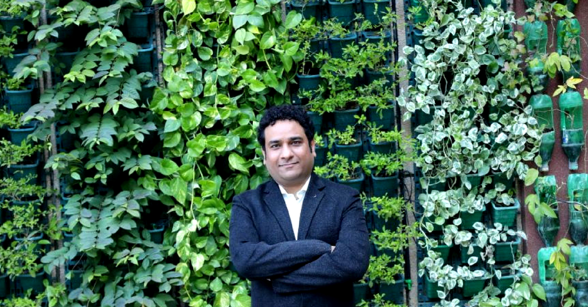 Exclusive: Meet the IRS Officer Behind India's 1st Railway Station with Vertical Gardens!