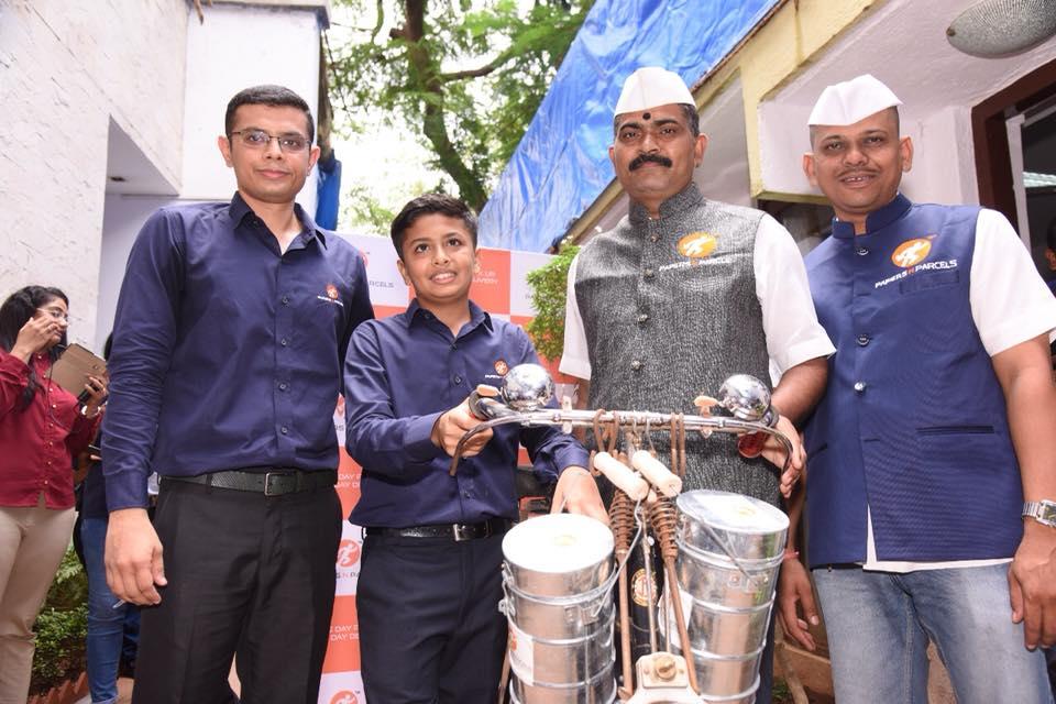 Mumbai India entrepreneur dabbawalas