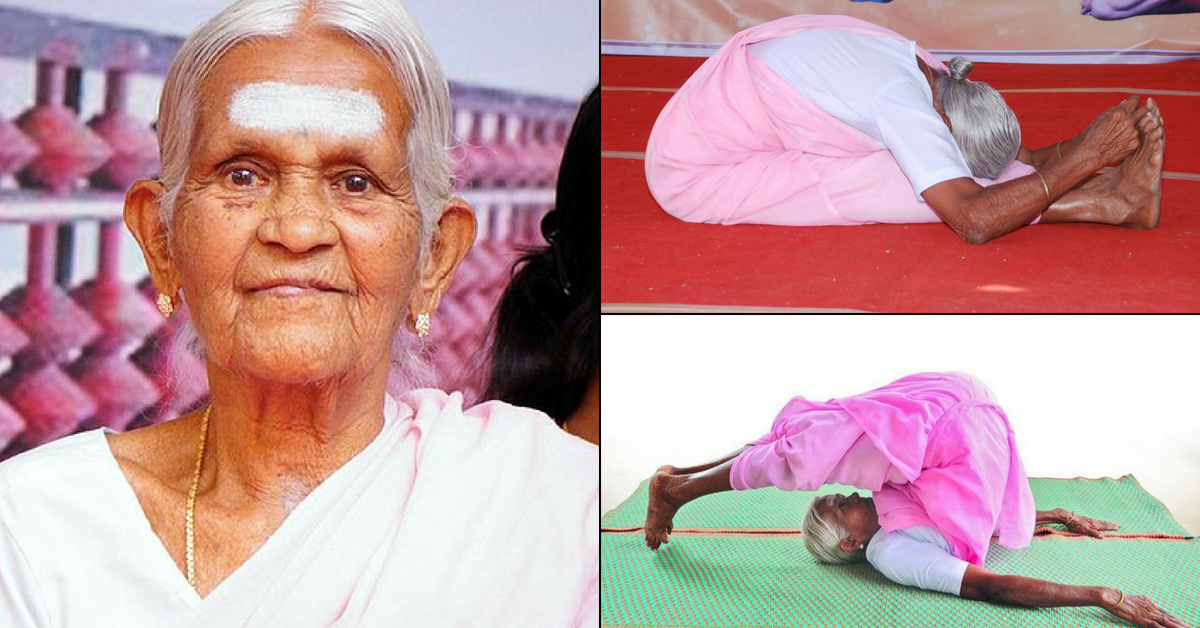 Can You Perform Headstands Twice a Day? This 99-YO Grandmother From TN Can!