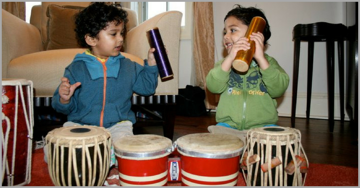 Toddlers Singing Classical Music & Playing the Tabla? Mumbai Moms Make It Possible!
