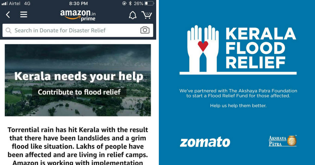 Food Bundles to Free Flights For Doctors: India Inc Comes Together To Rebuild Kerala!