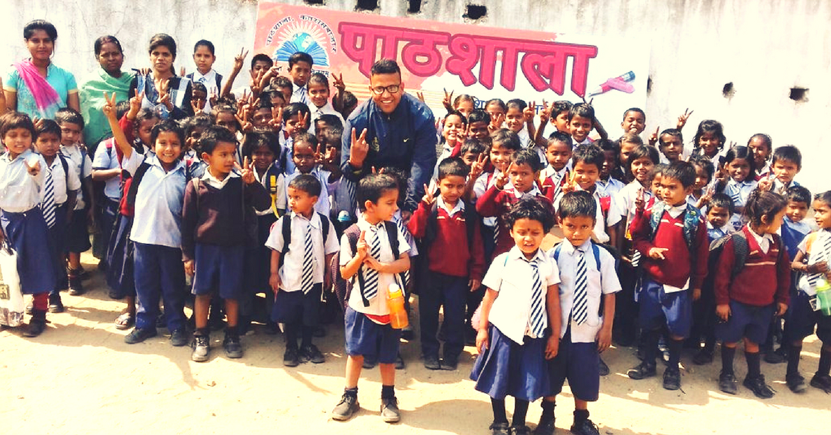 Jharkhand Man Uses Ancestral Home, 60% of Salary to Run 3 Schools For Poor Kids!