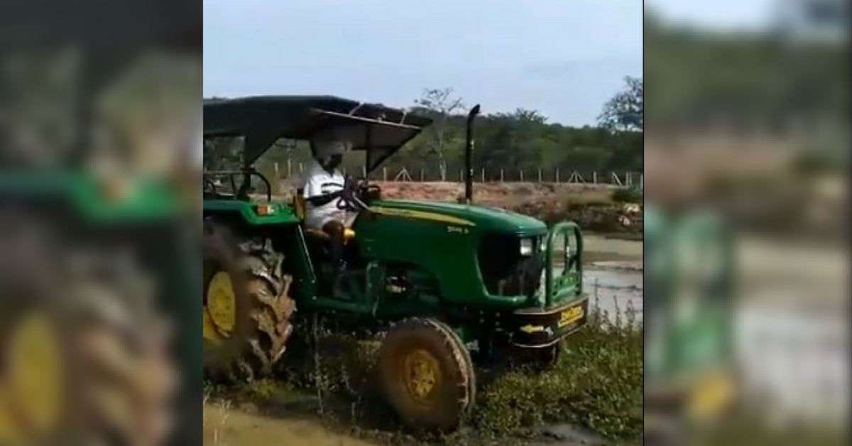 Watch: Madras HC Judge Goes Back to Roots After Retirement, Ploughs Farm With Aplomb!