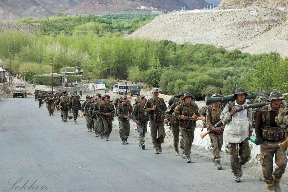 Defending Ladakh and India. (Source: Facebook/Ladakh Scouts)