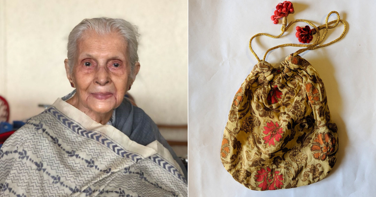 From Germany to New Zealand, This 89-YO Granny's Potli Bags are a Global Hit!