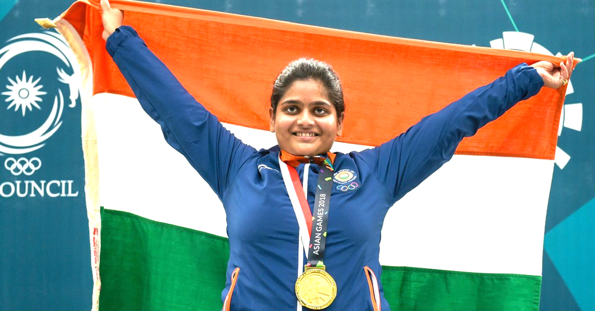 First Indian Woman to Win Asian Games Shooting Gold Couldn't Lift a Gun in 2016!