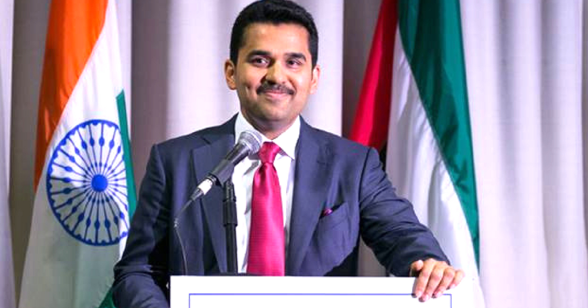The Abu Dhabi based Dr Shamsheer Vayalil, decided to donate Rs 50 crore for Kerala flood victims. Image Credit: Dr Shamsheer Vayalil