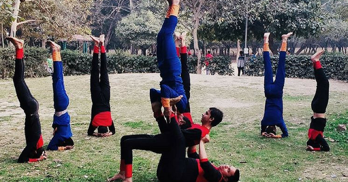 In Pics: Visually-Impaired Yoga Troupe's Incredible Acrobatics Will Wow You!