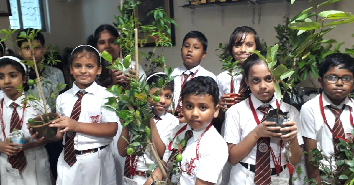 Upcycled Gardens to Greywater Recycling: Kolkata School Sets Green Benchmark!