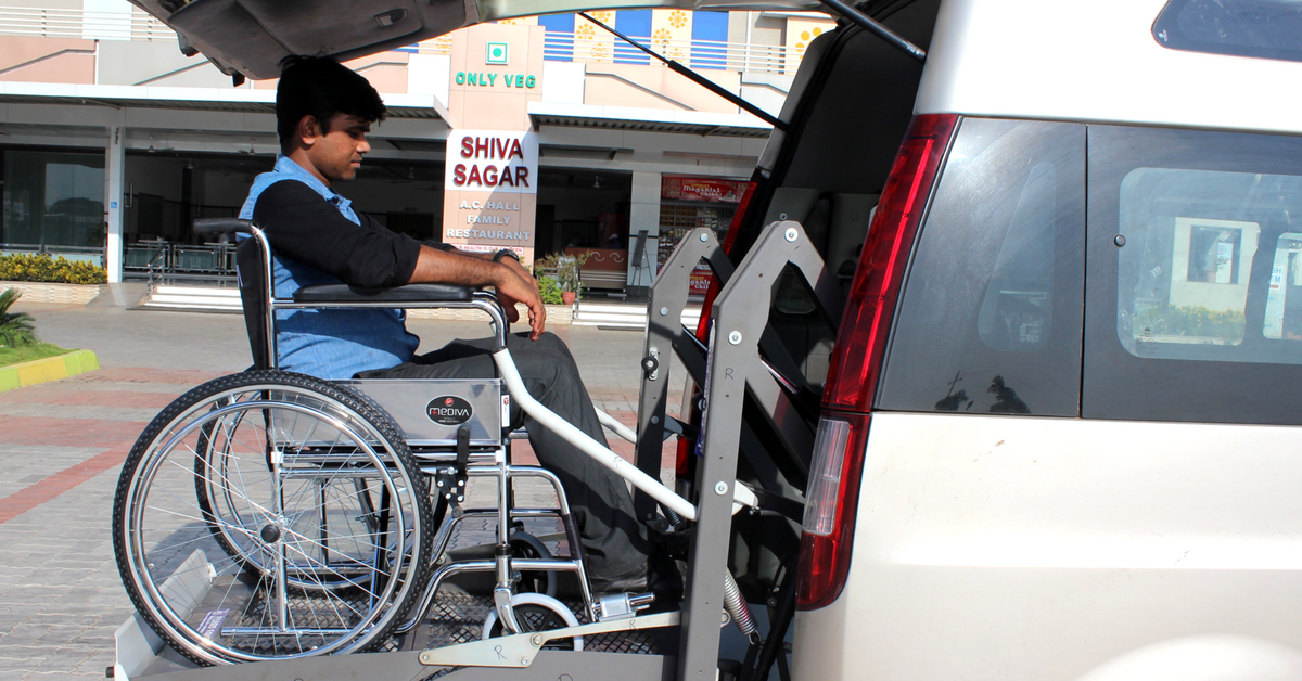 After Clocking 50000 Rides In Mumbai, India's 1st Wheelchair Taxi Heads to Goa!