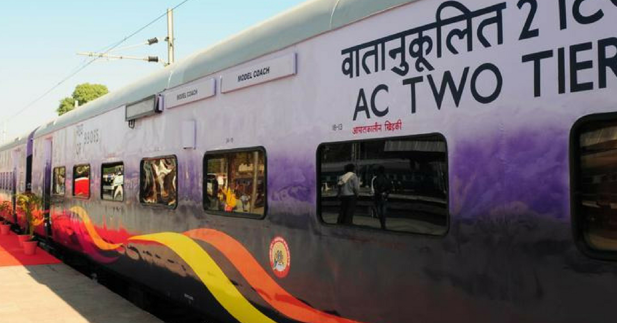 AC 2-Tier Coach On Its Way Out In Rajdhani and Duronto Express. Find Out Why!