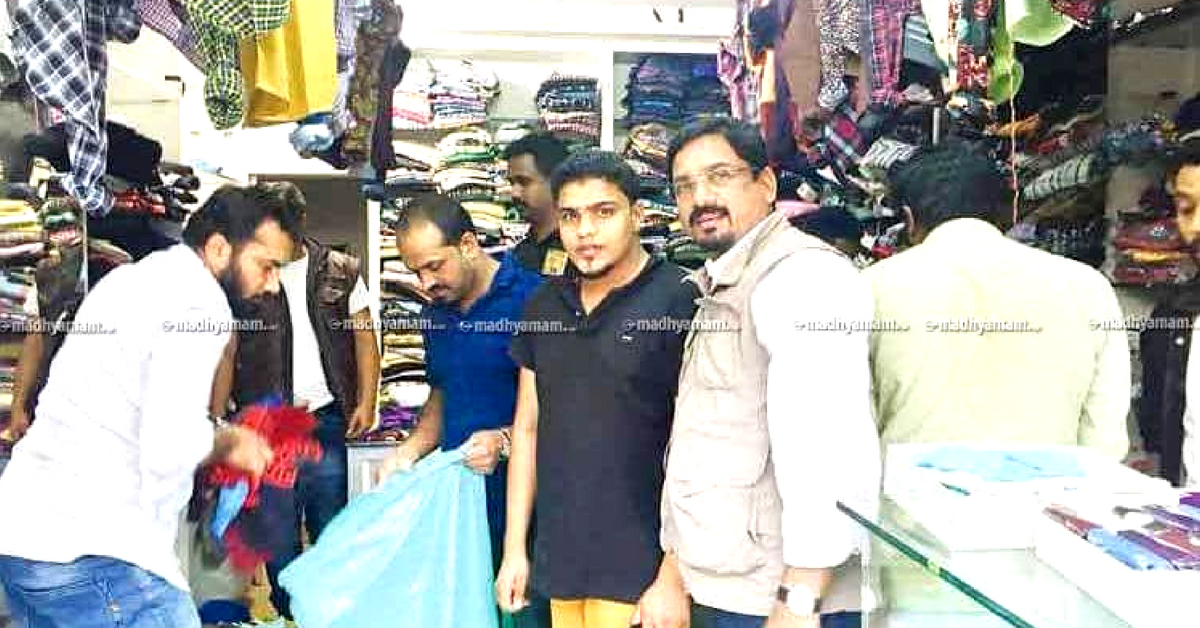#KeralaFloods: Wayanad Cloth Trader Donates Entire Stock Worth Rs 11 Lakhs to Victims!
