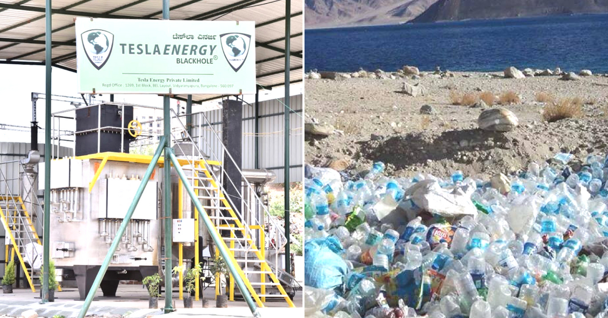 Tesla's 'BlackHOLE' May Soon Swallow Up Mountains of Trash in Ladakh. Here's How!