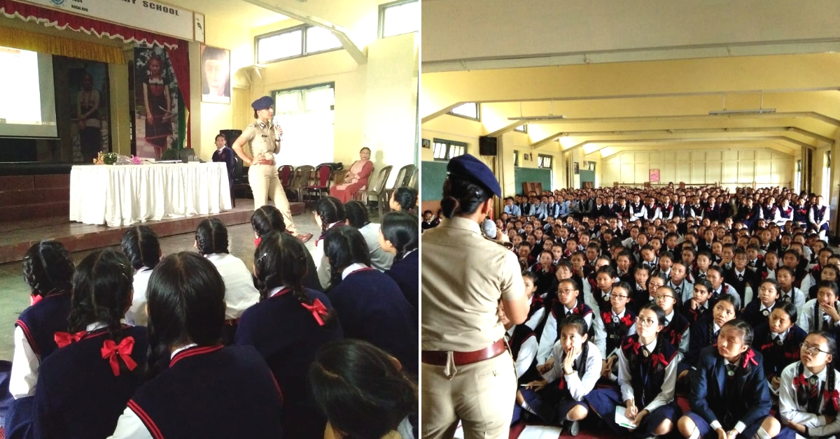 IPS Officer's 'Pathshala' Shows Nagaland's Kids a Whole New Side of The Police
