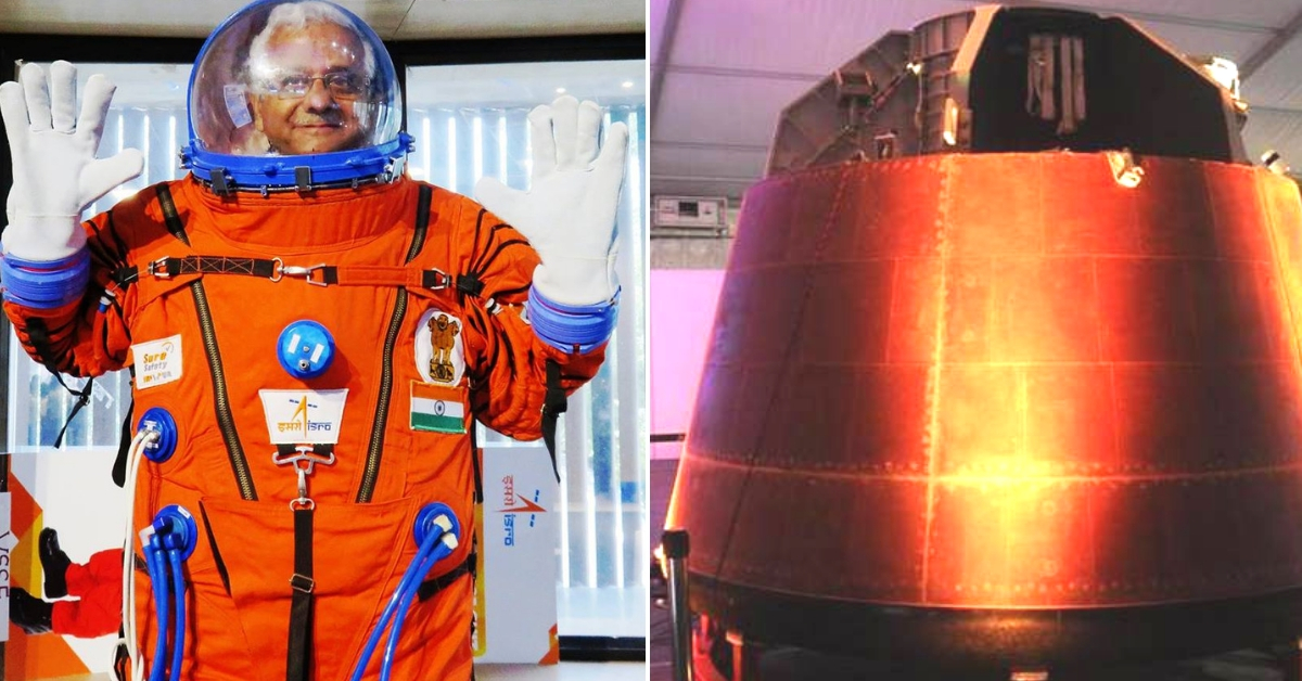 ISRO Unveils Space Suits, Crew Capsules for 2022 Gaganyaan Mission: Check Out Pics!
